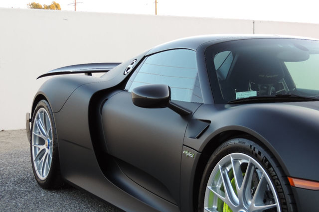bare carbon fiber porsche 918 spyder for sale in california. Black Bedroom Furniture Sets. Home Design Ideas