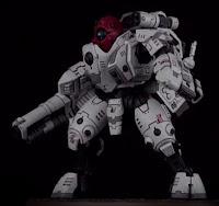 Cómo pintar la armadura de combate XV95 Ghostkeel