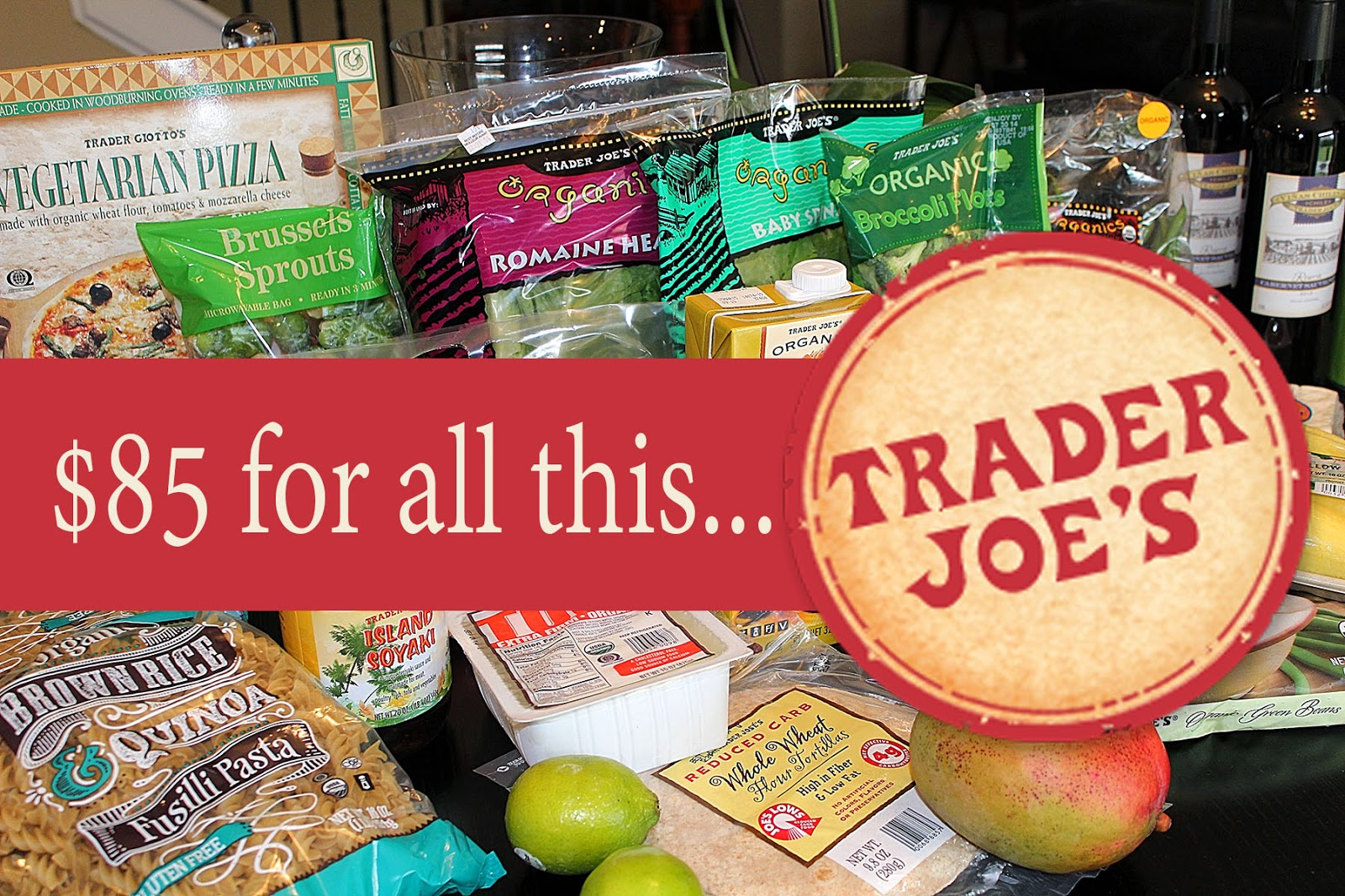 A Spoonful of Luxe: {Video} Trader Joe's Vegetarian Haul + 2 Weeks of Dinner Meal Plans with Recipe Links