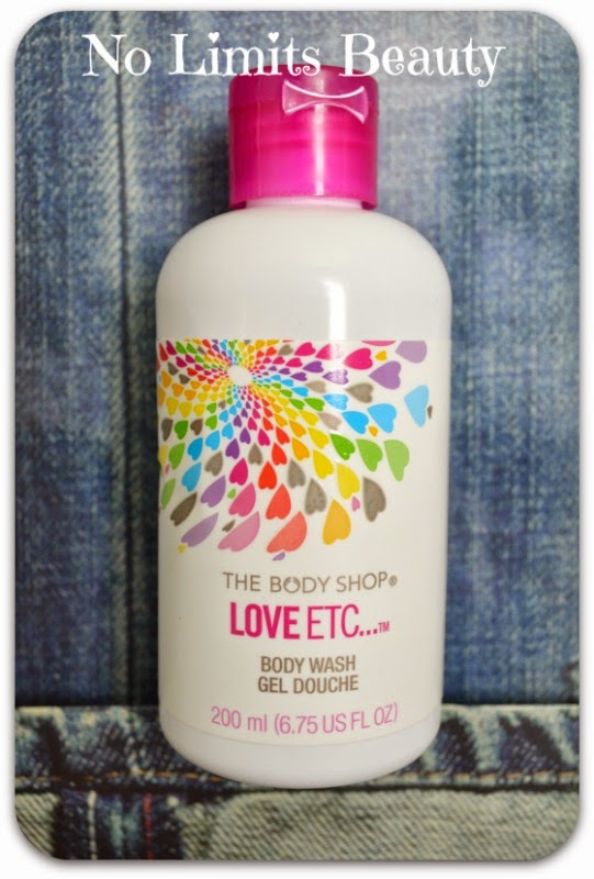 Love ETC Body Wash de The Body Shop