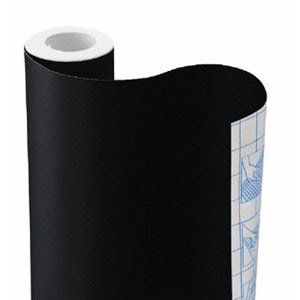 Chalkboard Contact Paper, 18 inches x 6 feet - Let's you turn anything into a writing surface