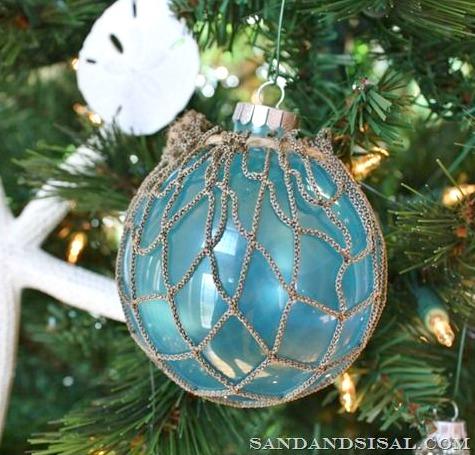 DIY Rope Net Ornament
