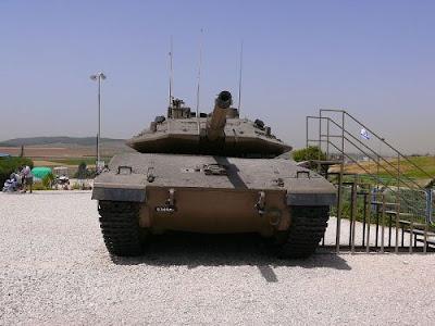 Merkava 4 Tank Tempur Utama Israel