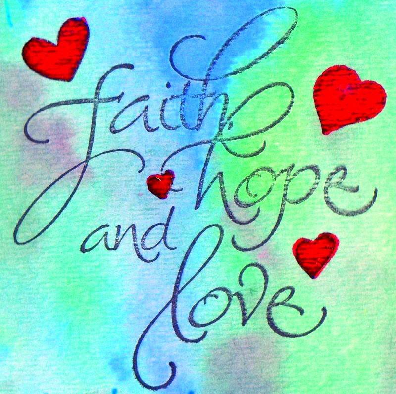 Positive Inspirational Quotes Faith Hope And Love Beauteous Love And Faith Quotes