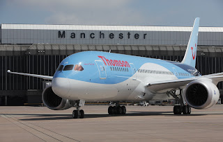 Thomson Airways' first 787 Dreamliner [Photo: Thomson]