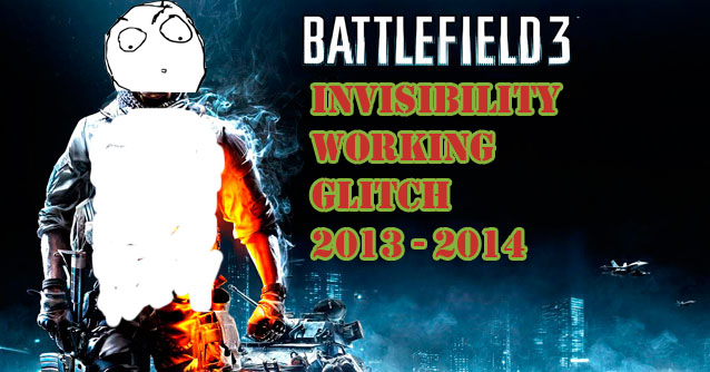 Battlefield 3 Invisibility Glitch Working 2013