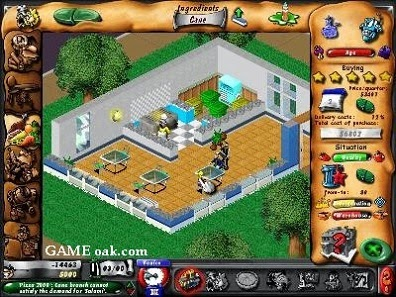 Fast Food Tycoon 2 business simulation game