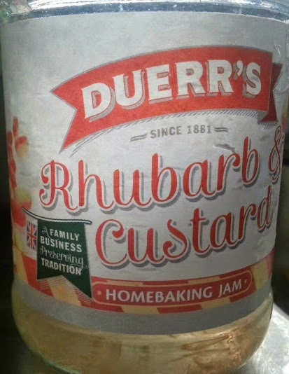 Duerr's Homebaking Jam Rhubarb and Custard flavour review