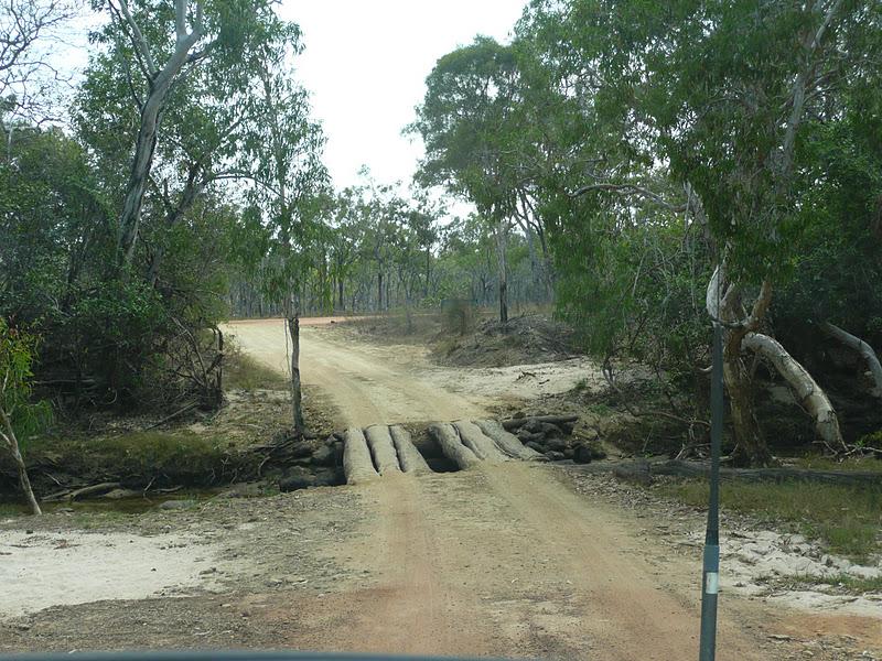 Nele  Andrew Around Oz Bathurst Bay Campsite Cape Melville
