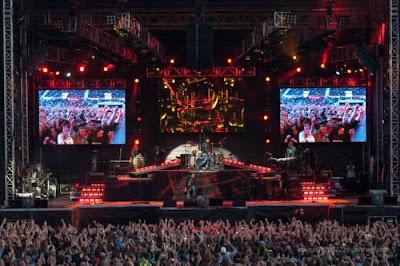 Guns N' Roses: resumo em números da turnê europeia