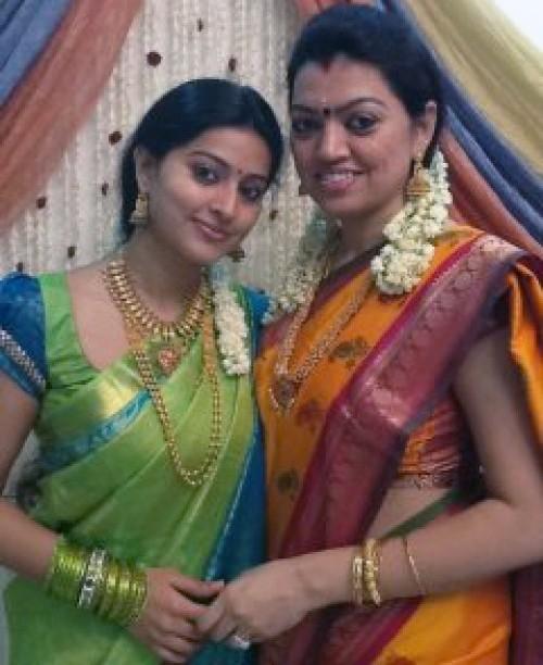 Latest Saree Designs Sneha In Bridal Sarees At Her Wedding