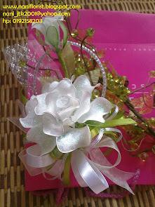 Bunga Rose Dip Putih