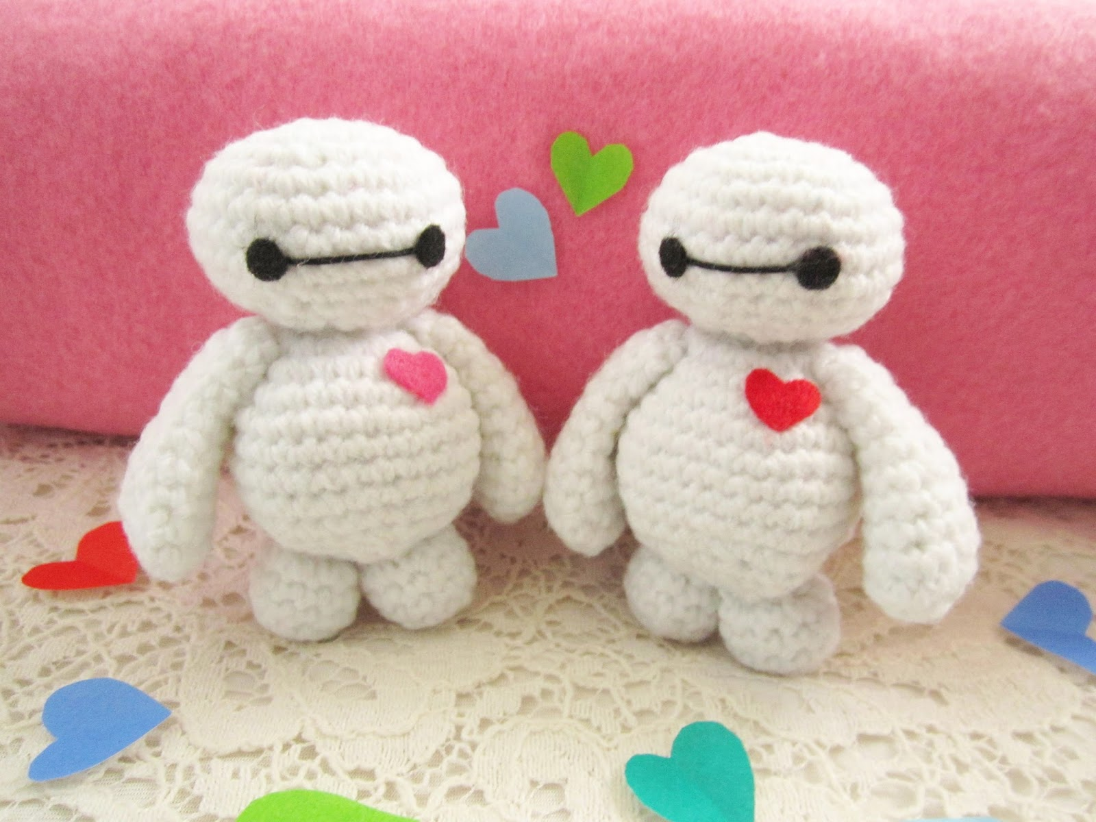 Baymax amigurumi pattern - A little love everyday!