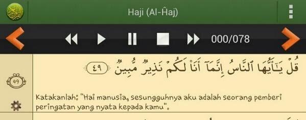 gunung kelud tercatat sebagai peringatan dalam surat al-hajj