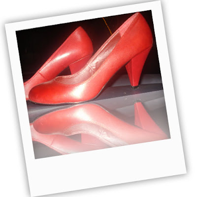 chaussure rouge NewLook