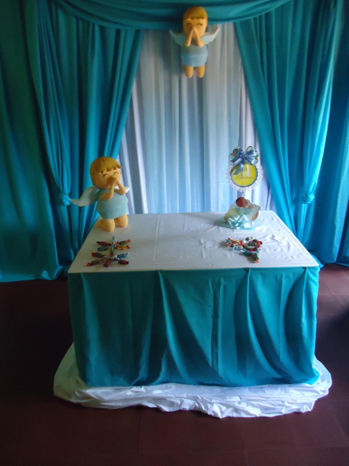 Luly creaciones todo para tus fiestas bautismo for Decoracion de bautismos