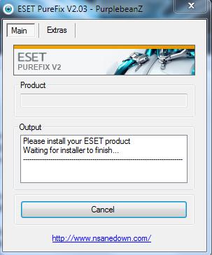 ESET PureFix V2.04.exe