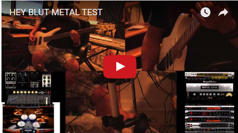 Hey Blut Metal Test