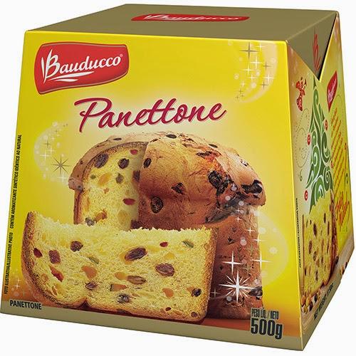 Panetone frutas Bauducco preço