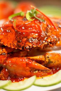 Kepiting saos merah