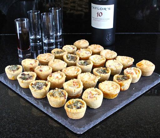 Mini Quiches (makes 40 to 50 mini quiches)
