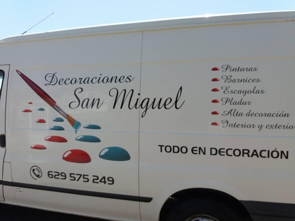 DECORACIONES SAN MIGUEL