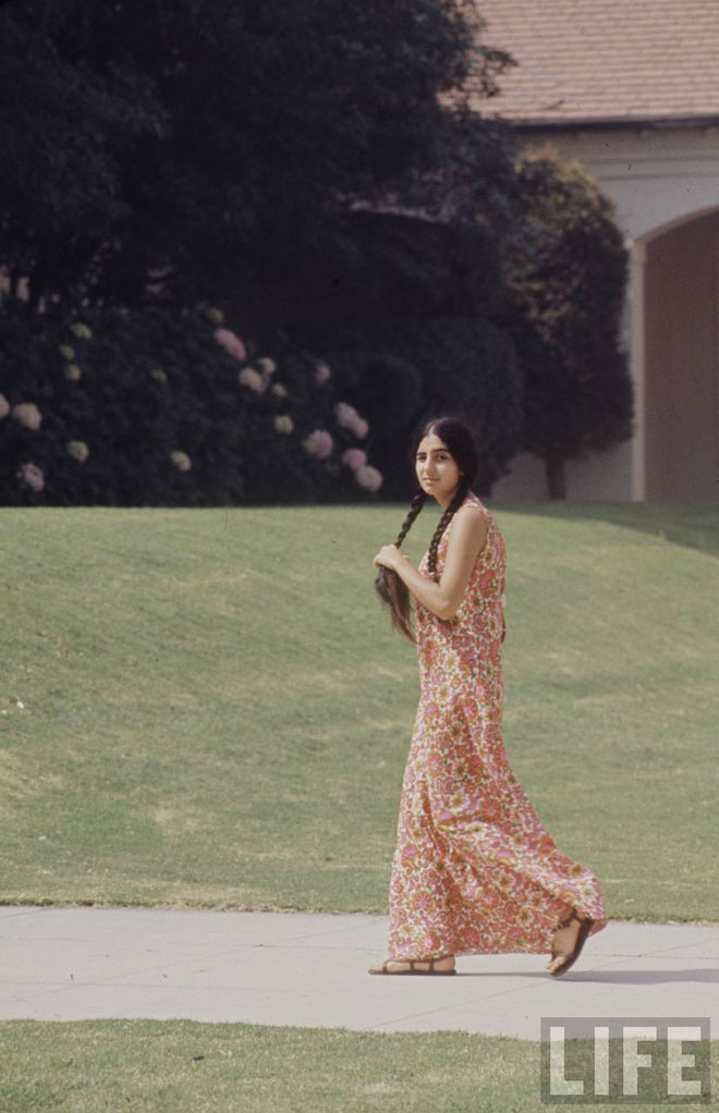High School Fashion 1969 Fashion And Beauty Tips