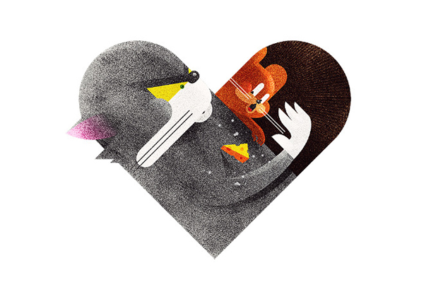 Versus/Hearts by Dan Matutina - My favorite Cat & Mouse rivalry