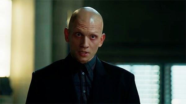 Victor Zsasz en Gotham 1x07 - Penguin´s Umbrella