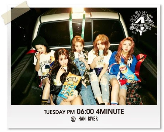 4minute World What Are You Doing Today Han River