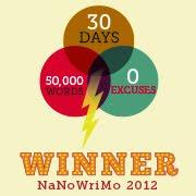 I Won NaNo 2012
