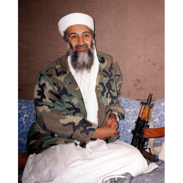 Osama Bin Laden Shooting Ak 47 Osama Bin Laden Shooti...