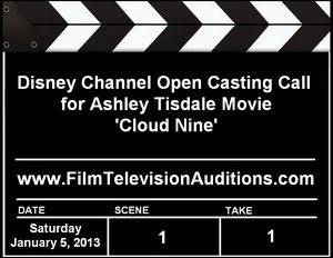 Disney Channel Cloud Nine Casting Call