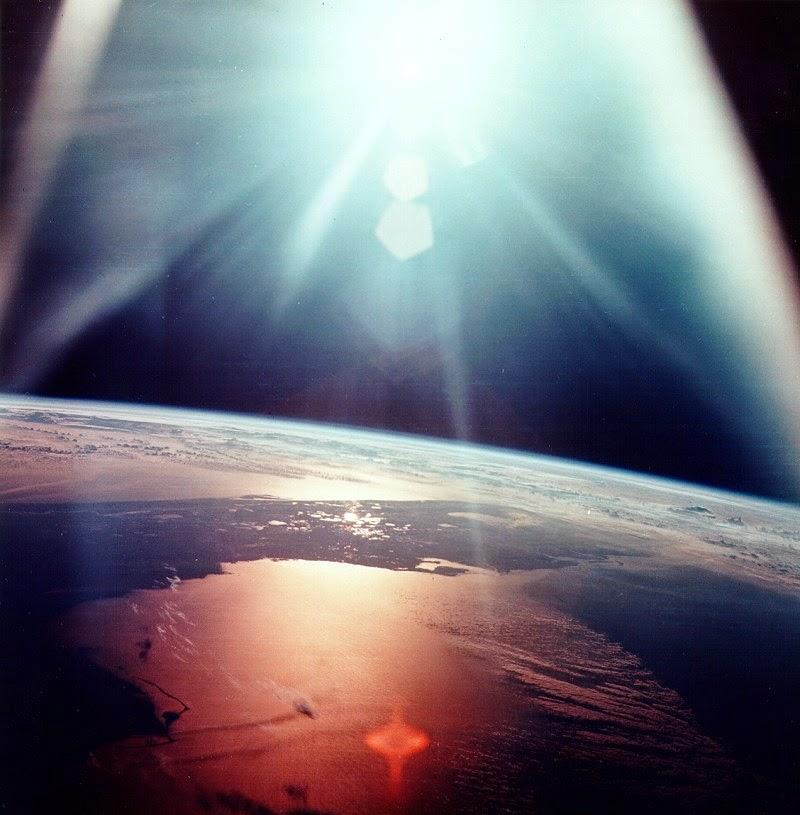 Vista de Florida desde el Apolo 7