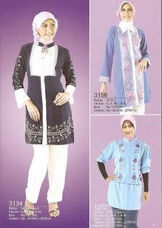 contoh foto model baju muslim atau gambar model pakaian