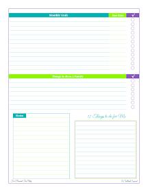 free printable, goal setting, planning,