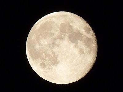 Небо Монголии. Луна.