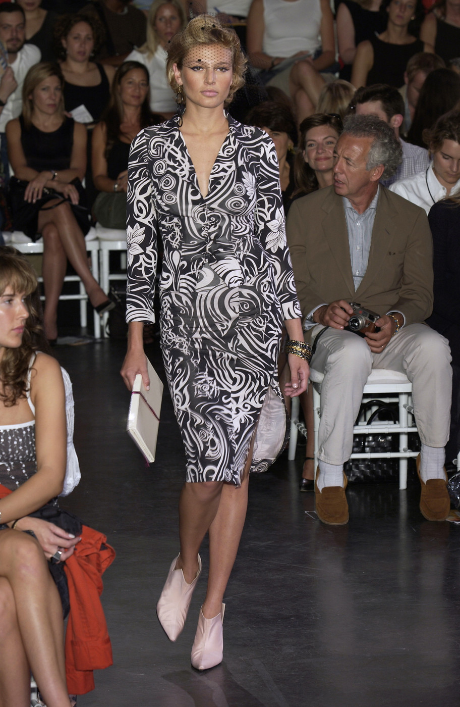 via fashioned by love | Diane von Furstenberg wrap-dress Spring/Summer 2003