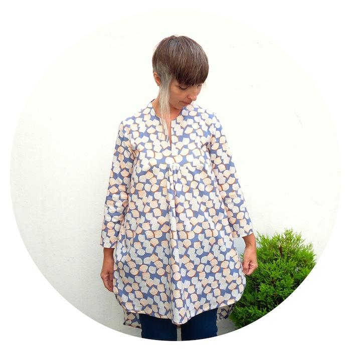Burda Style 7220: blouse A