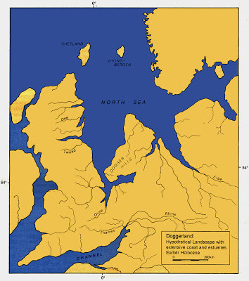 Doggerland in the Mesolithic Period (10,000 BCE to 6,000 BCE)