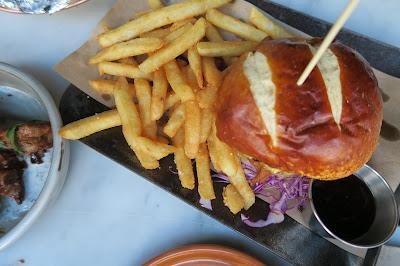 The Potting Shed Pulled Pork Burger