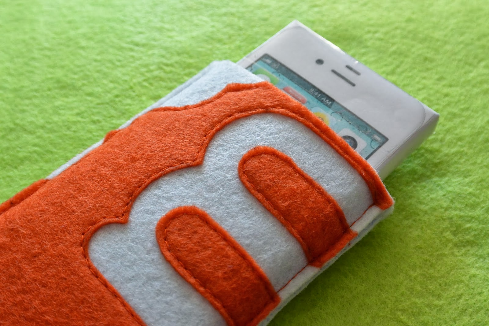 Housse en feutrine Marmiton pour votre iPhone
