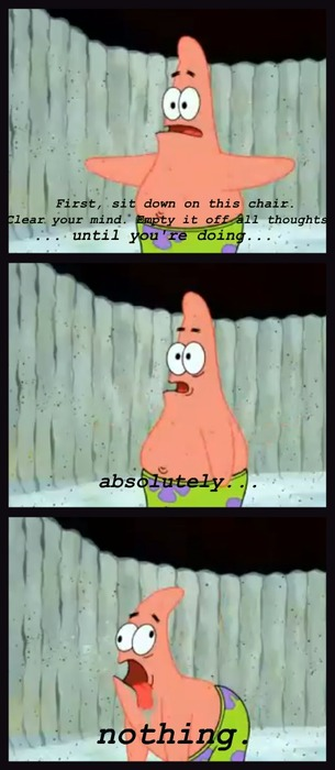 How To Meditate By Patrick Star