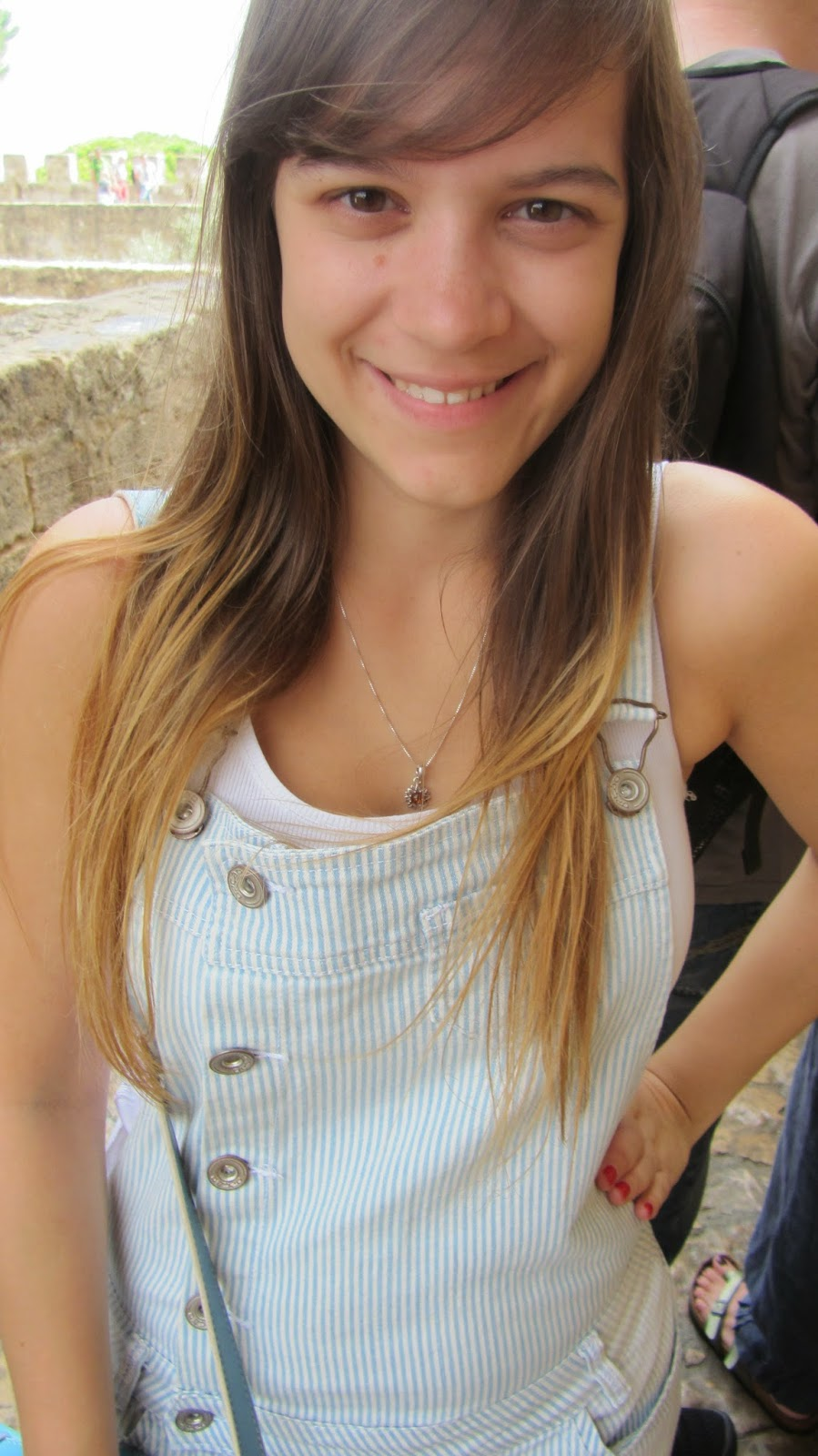 Clothes & Dreams: OOTD x3: Boa Lisboa: OOTD #2 Opção dungarees