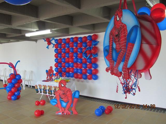 decoracion hombre arana