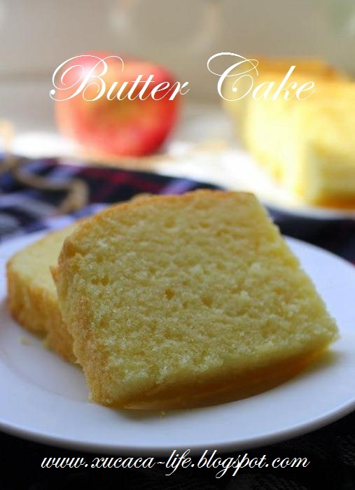Agnes Chang Butter Cake Recipe