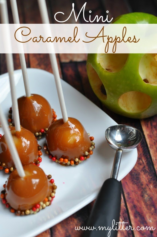 Diy Mini Caramel Apple Lollipop The Idea King