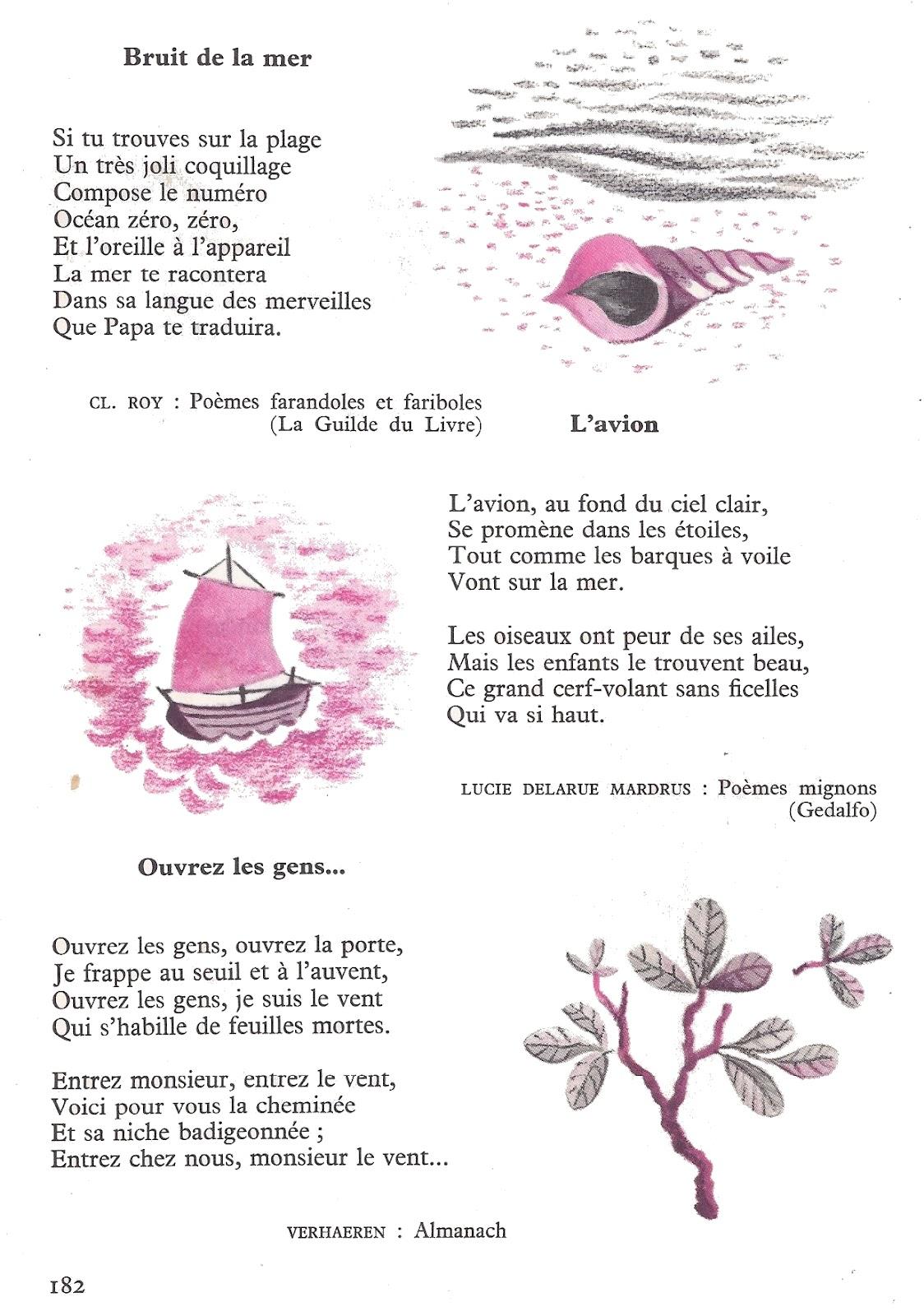 Hervorragend école : références: Métamorphoses (poésies) - Lire et parler CE1 n° 24 XN85