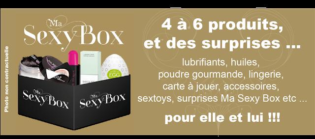 Une nouvelle box alliant plaisir et glamour : Ma Sexy Box + jeu concours