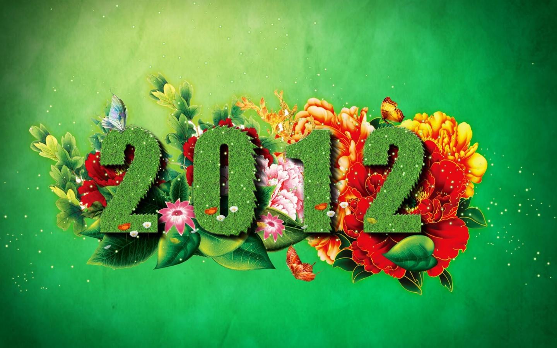 Feliz Año Nuevo 2012 - Happy New Year - (Ilustración)